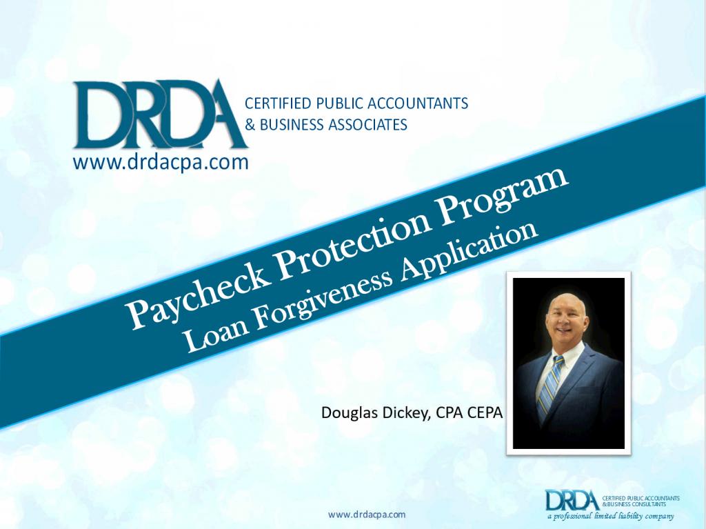 Payroll Protection Program Loan Forgiveness Application